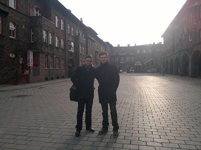 louis havriliuc and slawomir smyczek in katowice