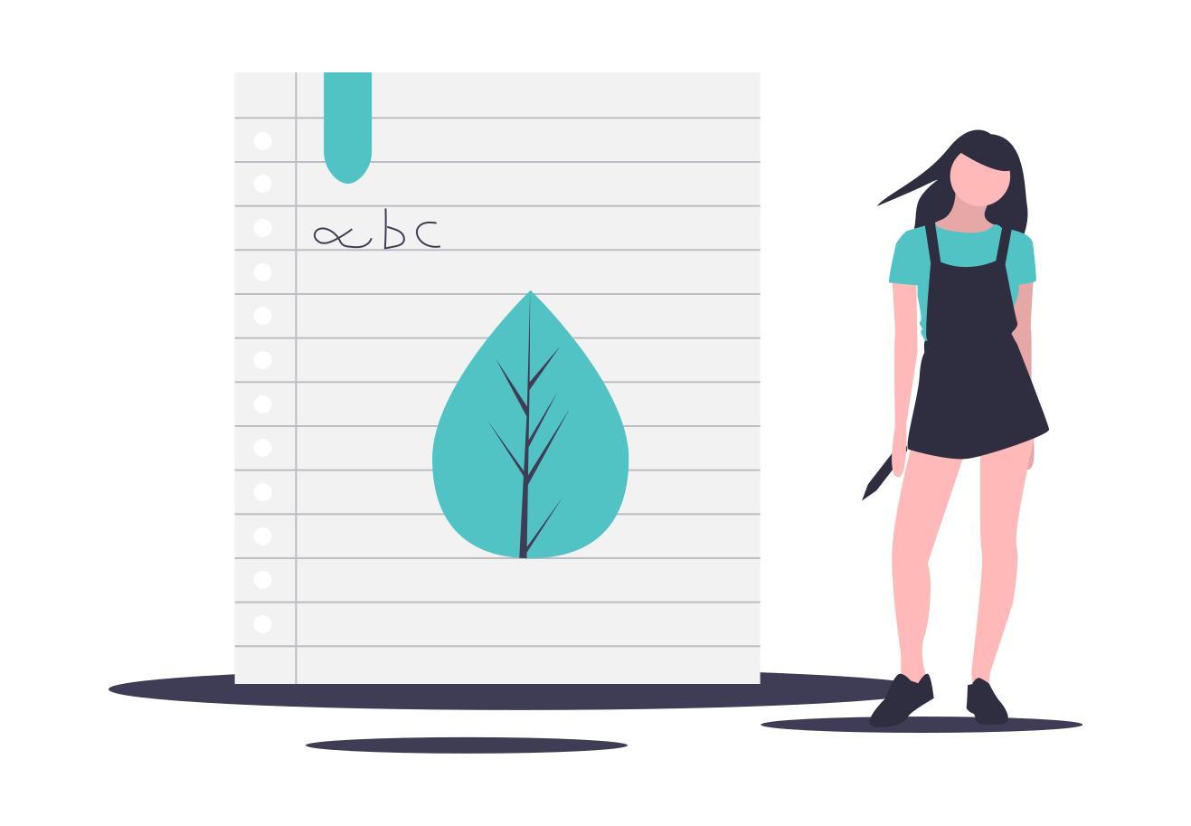 learning illustration