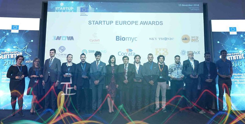 Picture of Startup Europe Awards Winners